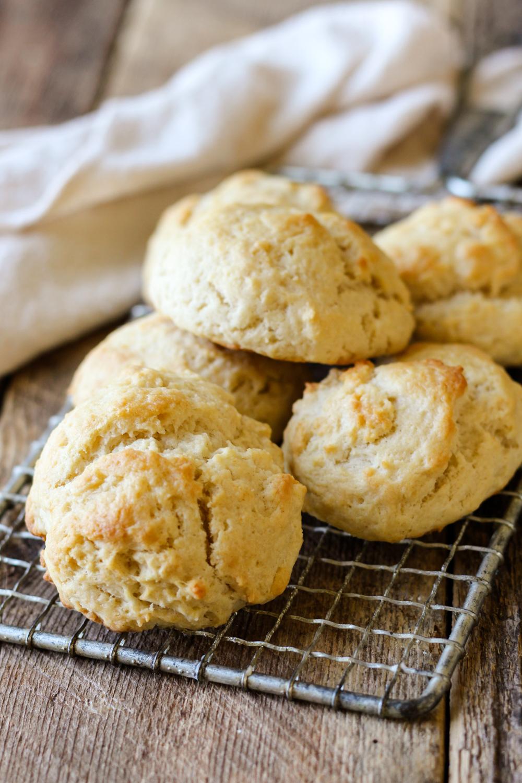 homemade drop biscuits