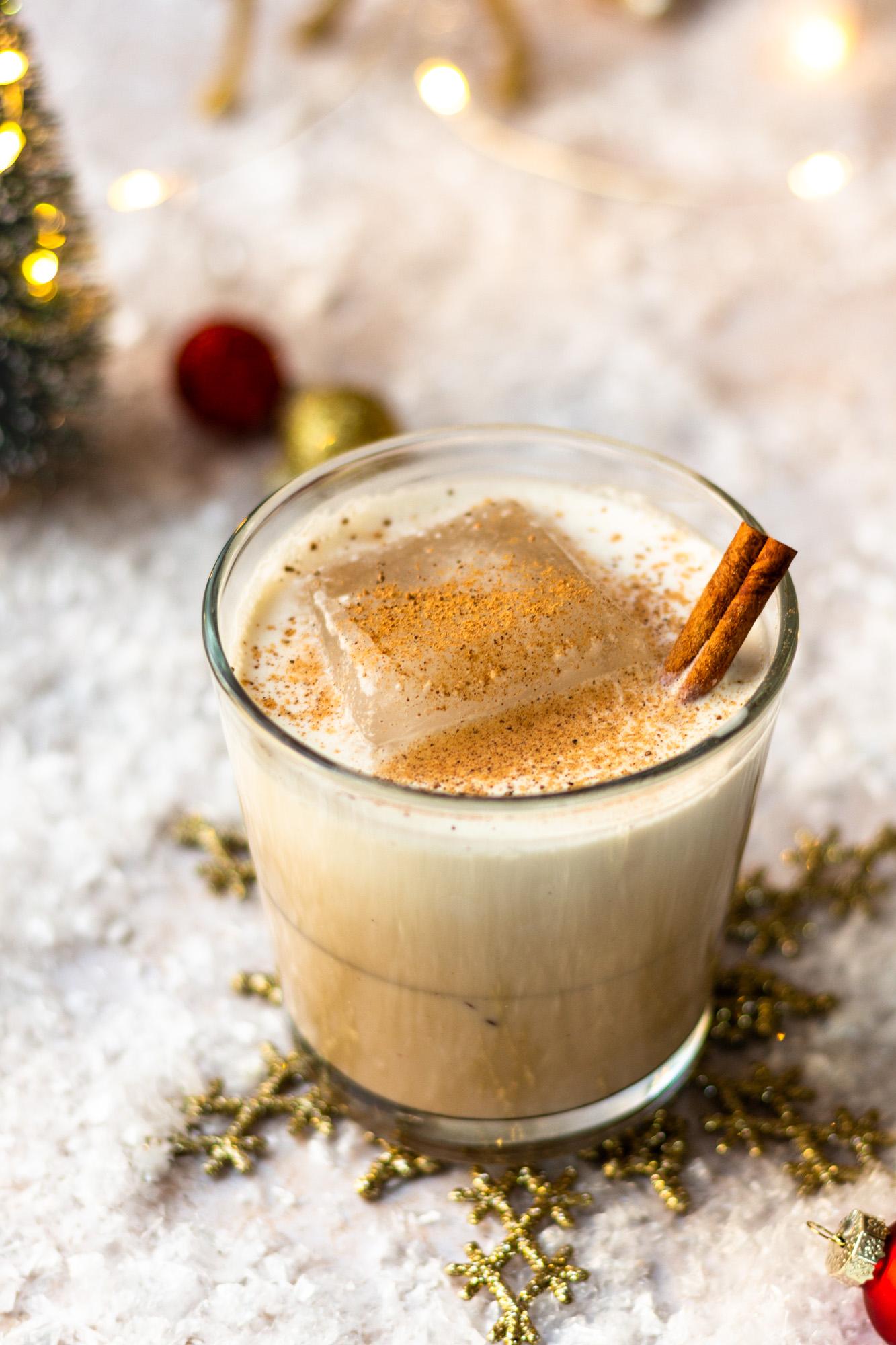 brandy eggnog white russian