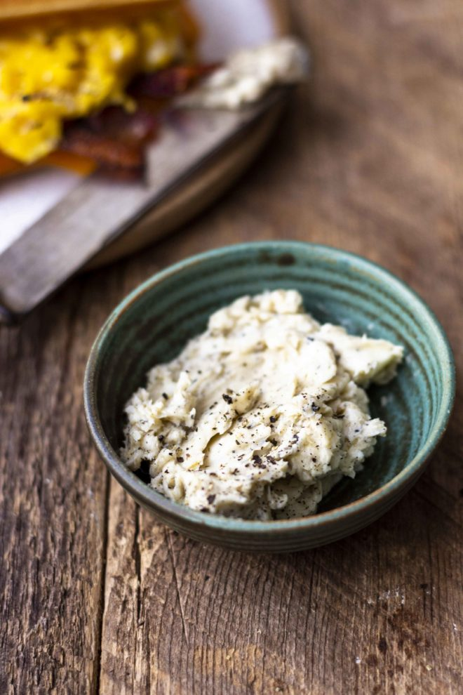 peppered maple butter